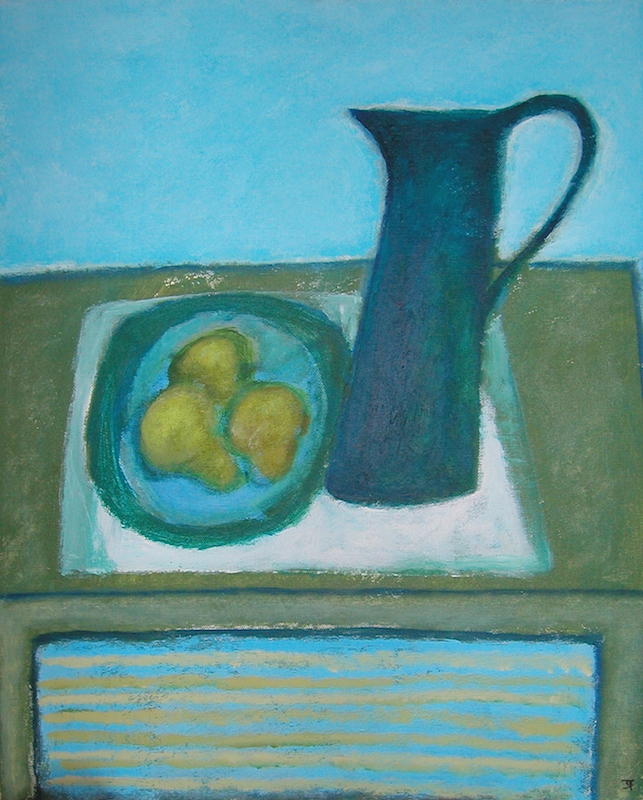 Jug With Pears